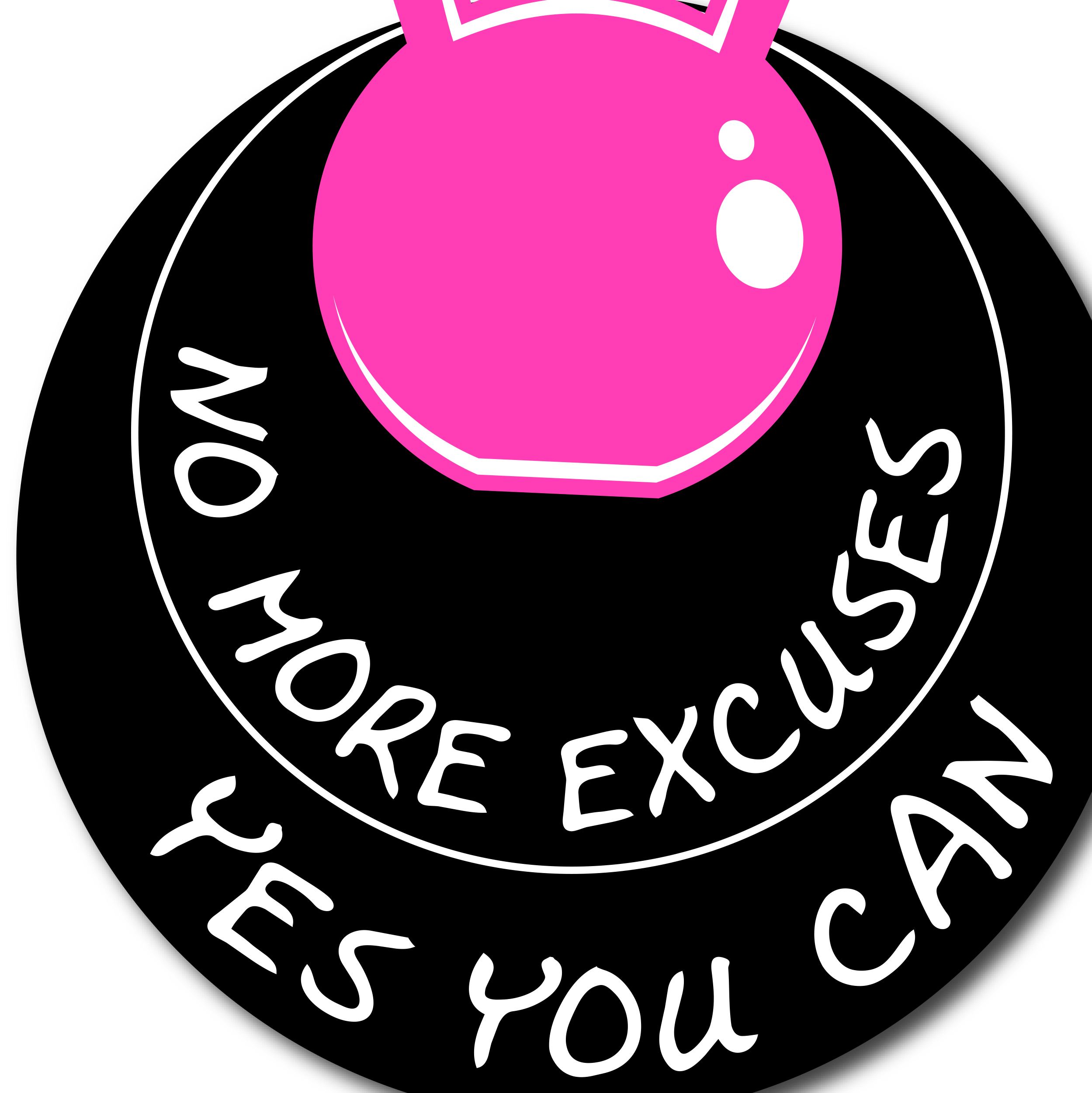 No More Excuses-Yes You Can Logo