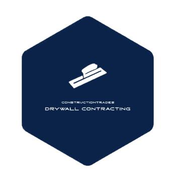Constructiontrades Drywall Contracting Logo