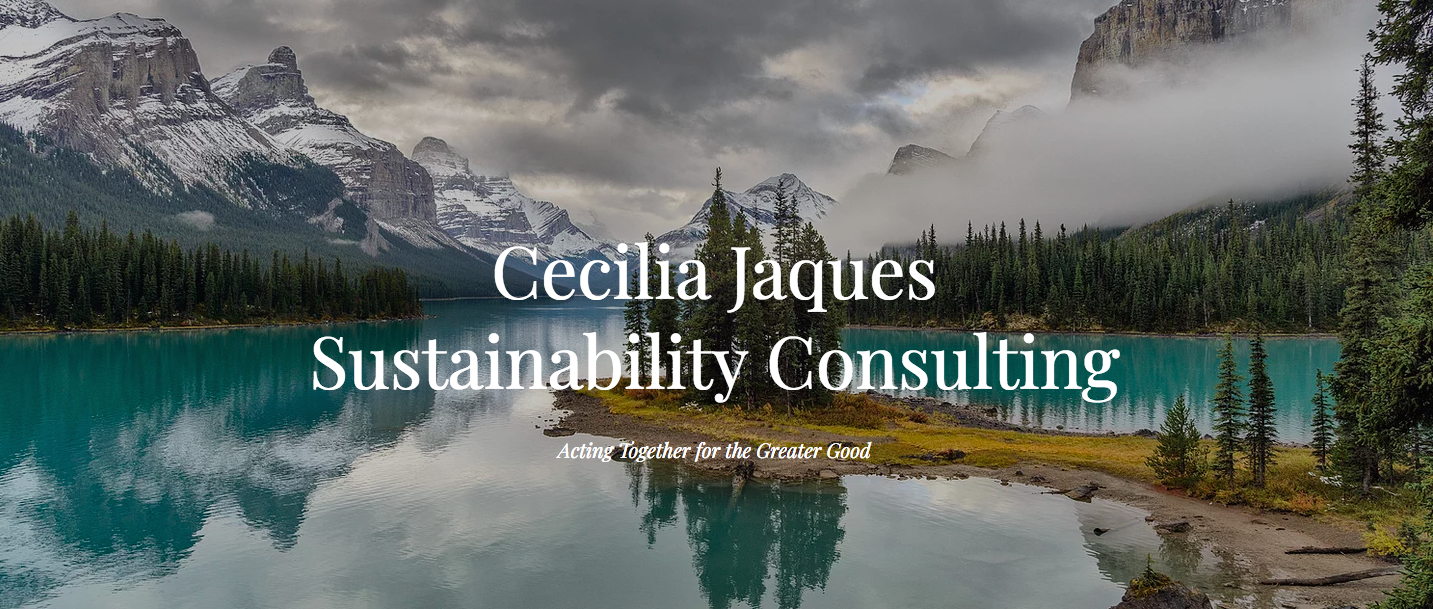 Cecilia Jaques Sustainability Consulting Logo