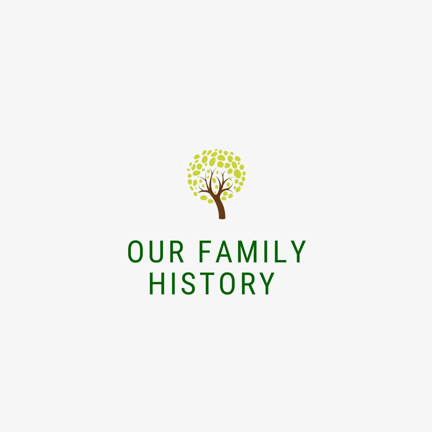 Our Family History Logo