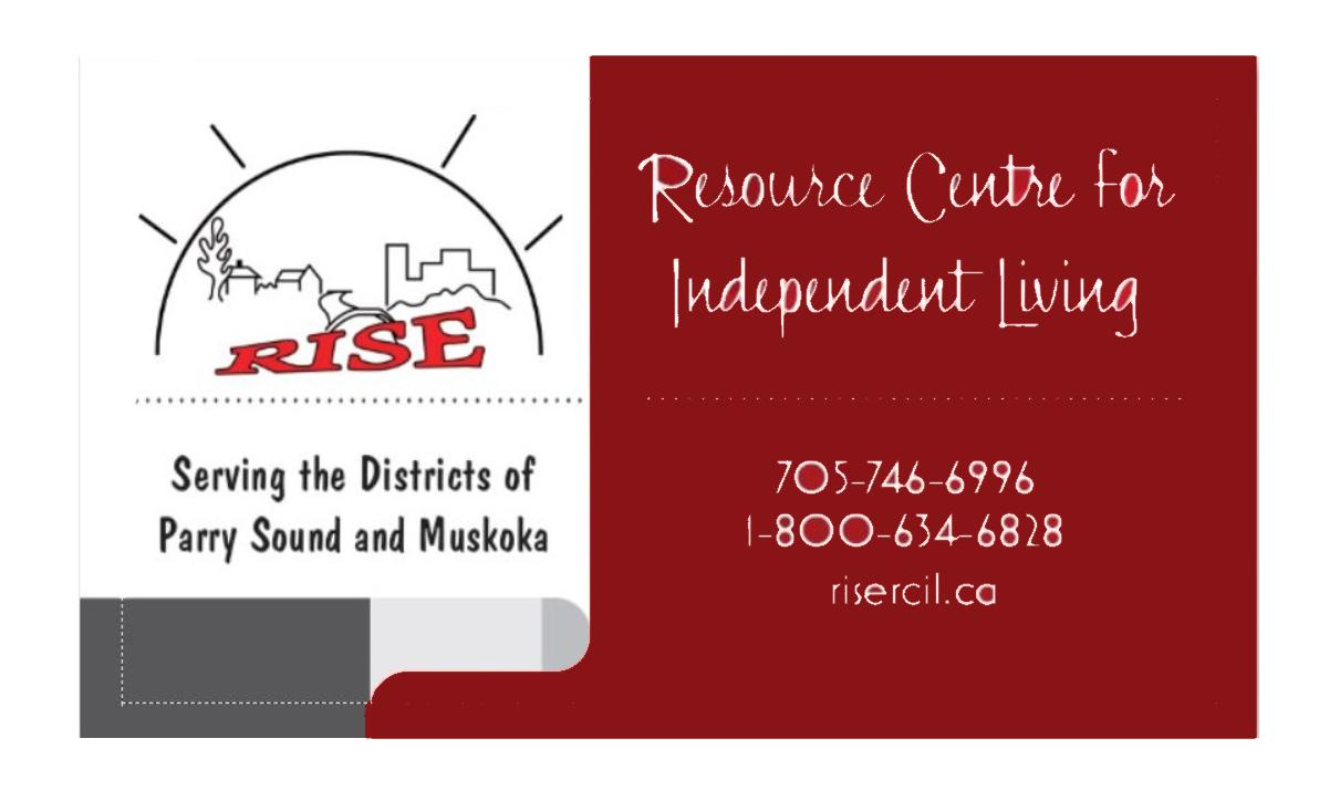 RISE: Resource Centre for Independent Living Logo