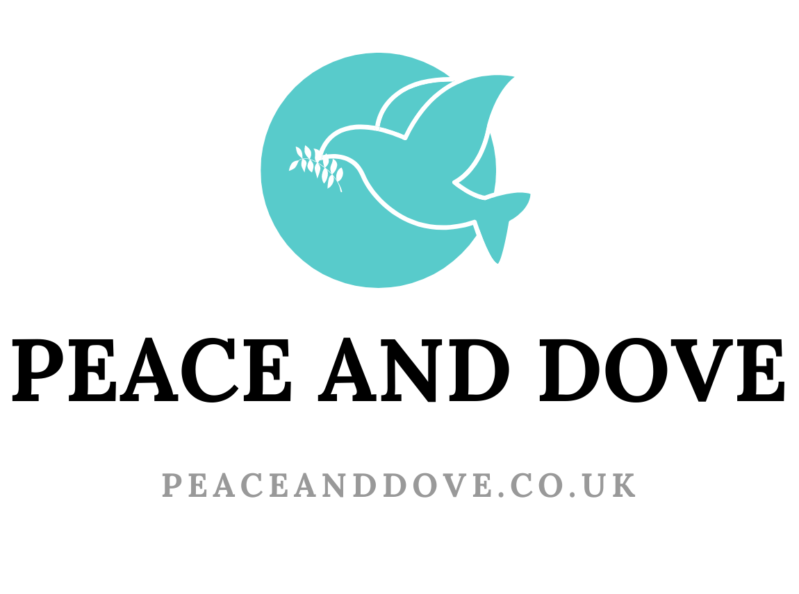 Peace and Dove Logo