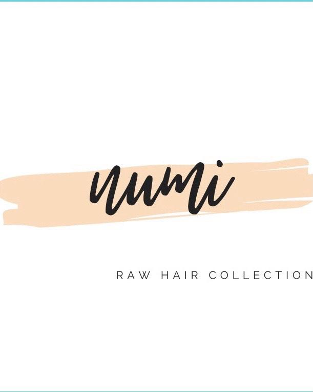 Numi Raw Hair Collection Logo