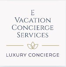 E Vacation Concierge Services Logo