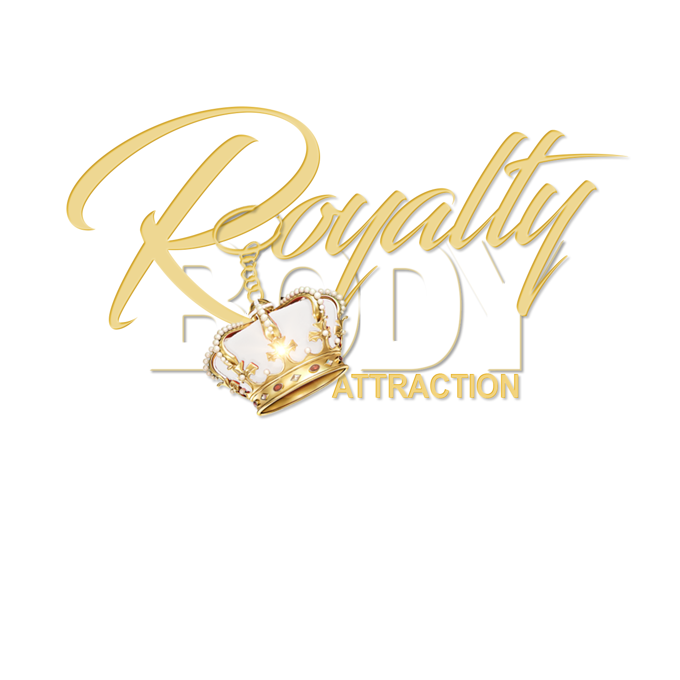 Royalty Body Attraction Logo