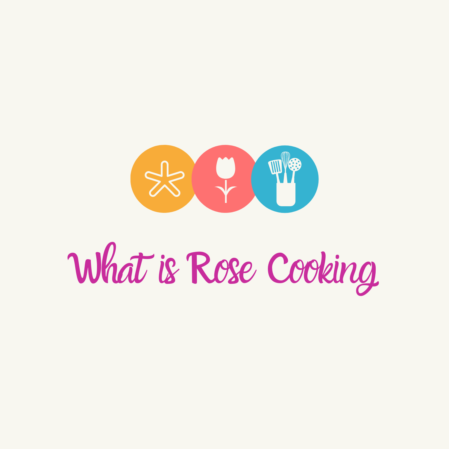 What is Rose Cooking Logo