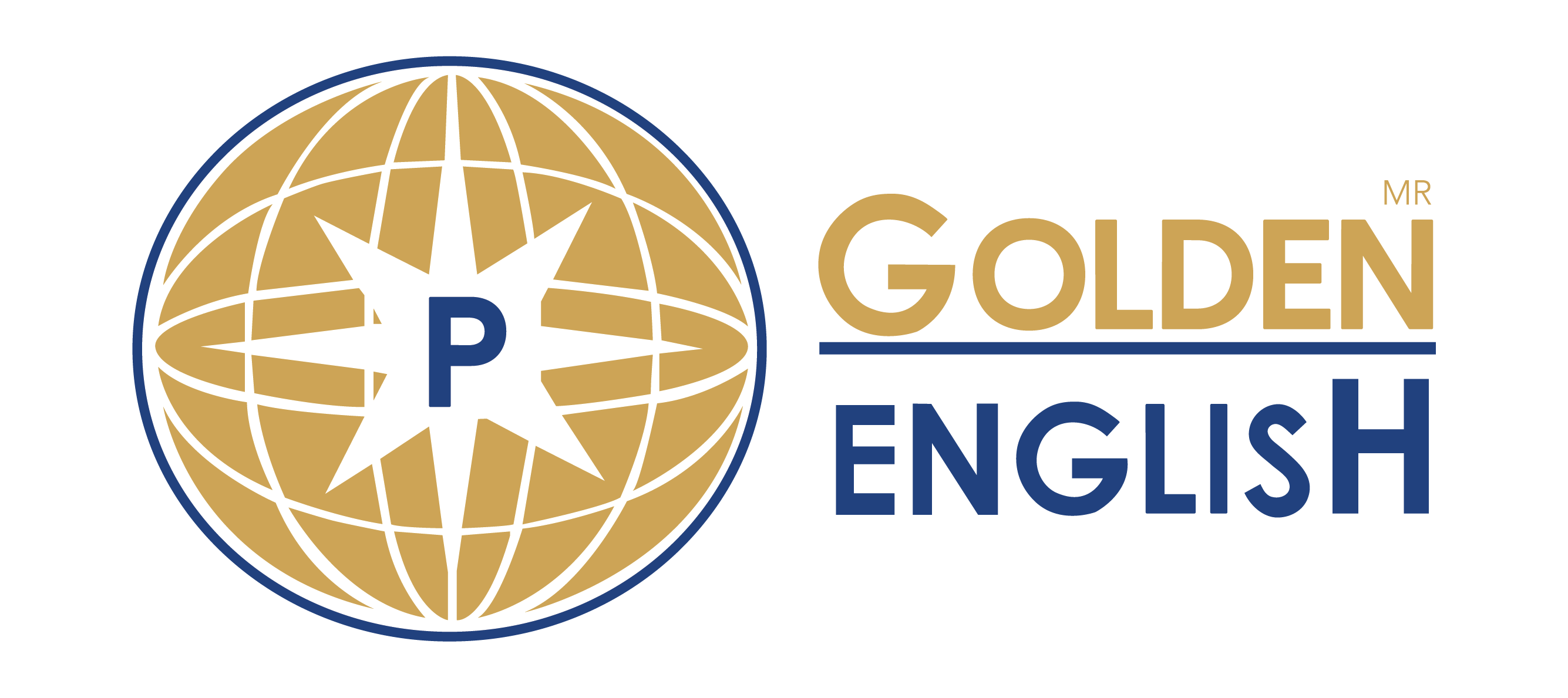 Golden English  Logo