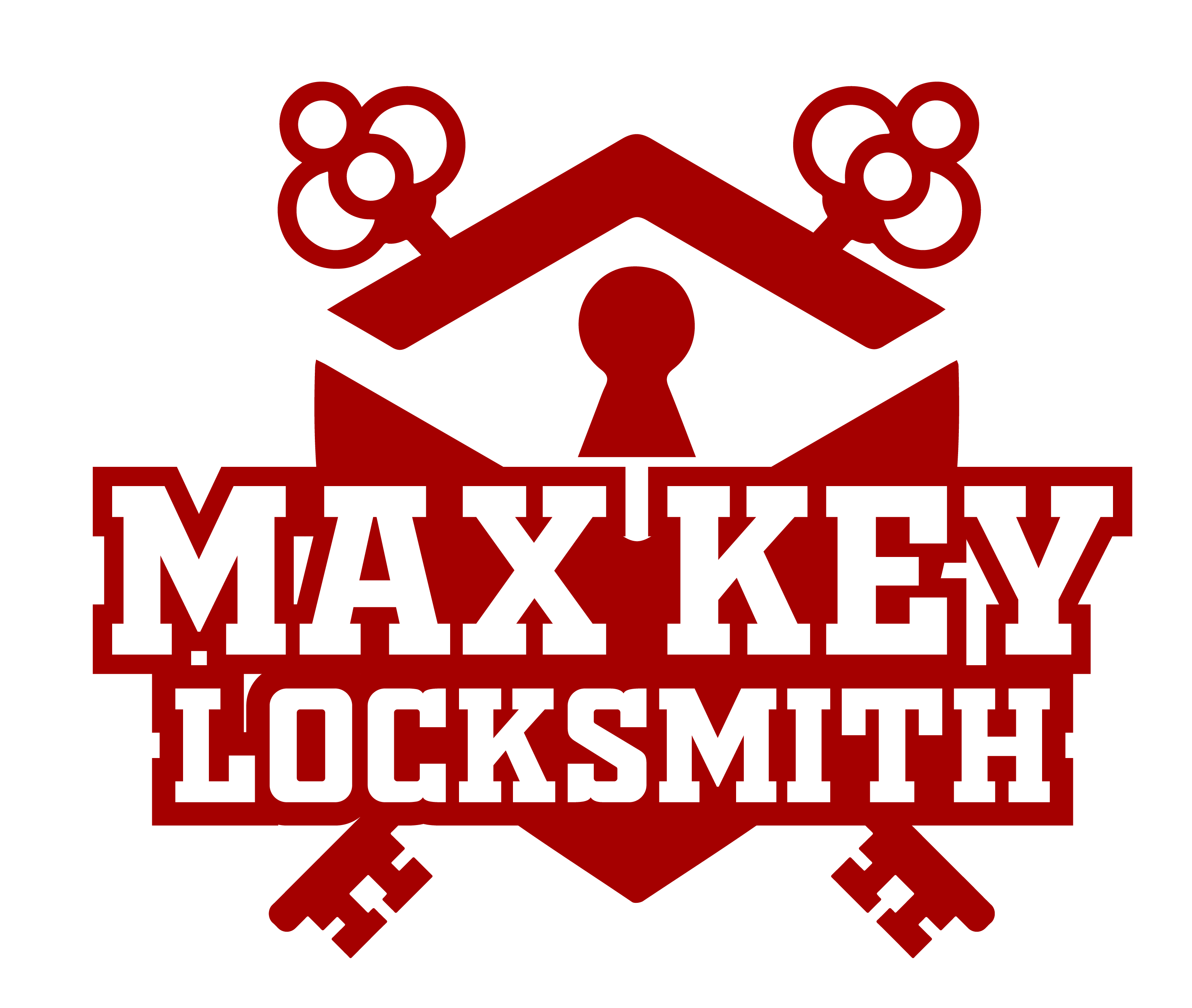 Max Key Locksmith Logo