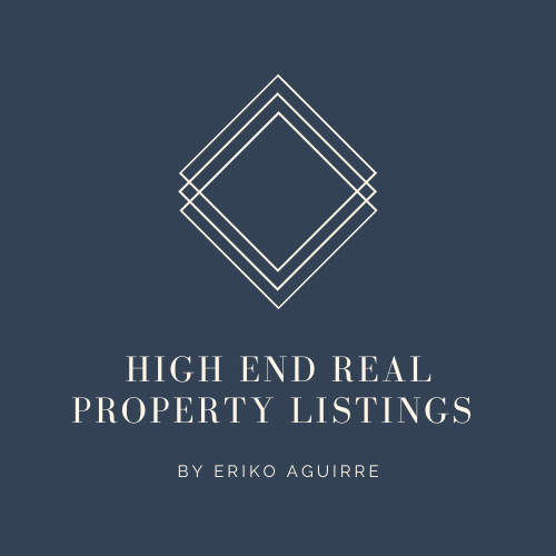 High-End Real Property Listings by Eriko Aguirre Logo