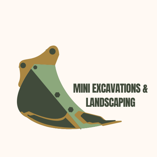 Mini excavations and landscaping  Logo