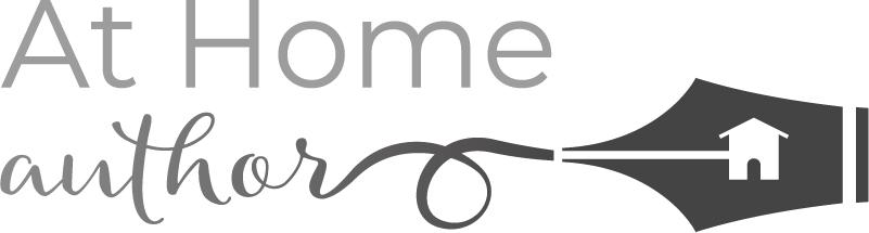 At Home Author- Courses, Coaching, & Consulting Logo