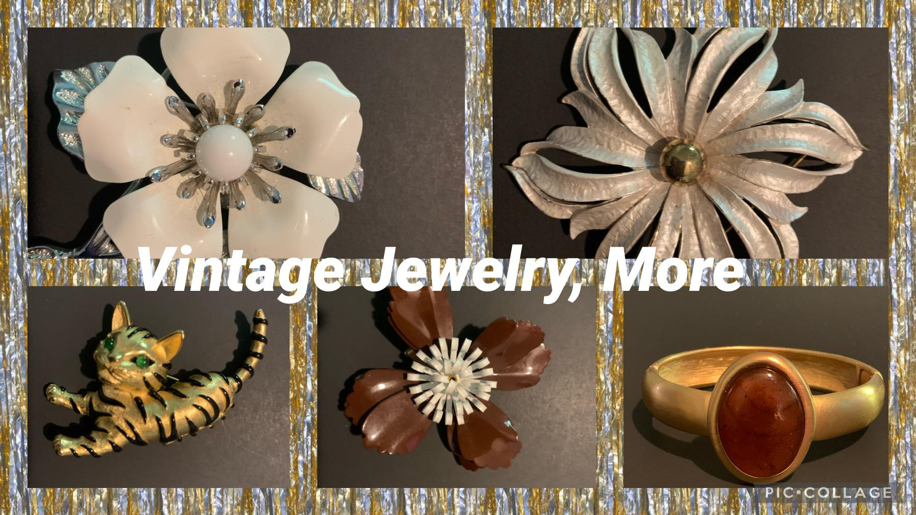 vintage jewerly and More Logo