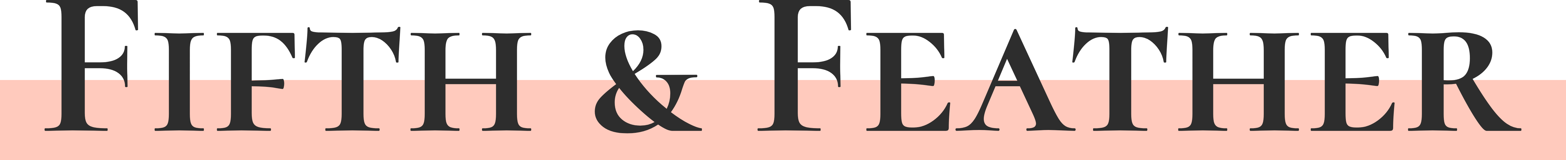 Fifth & Feather Logo