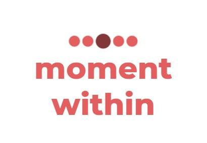Moment within Logo