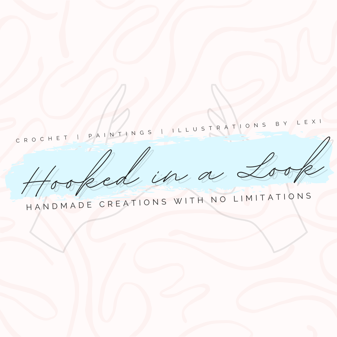 Hooked in One Look Logo