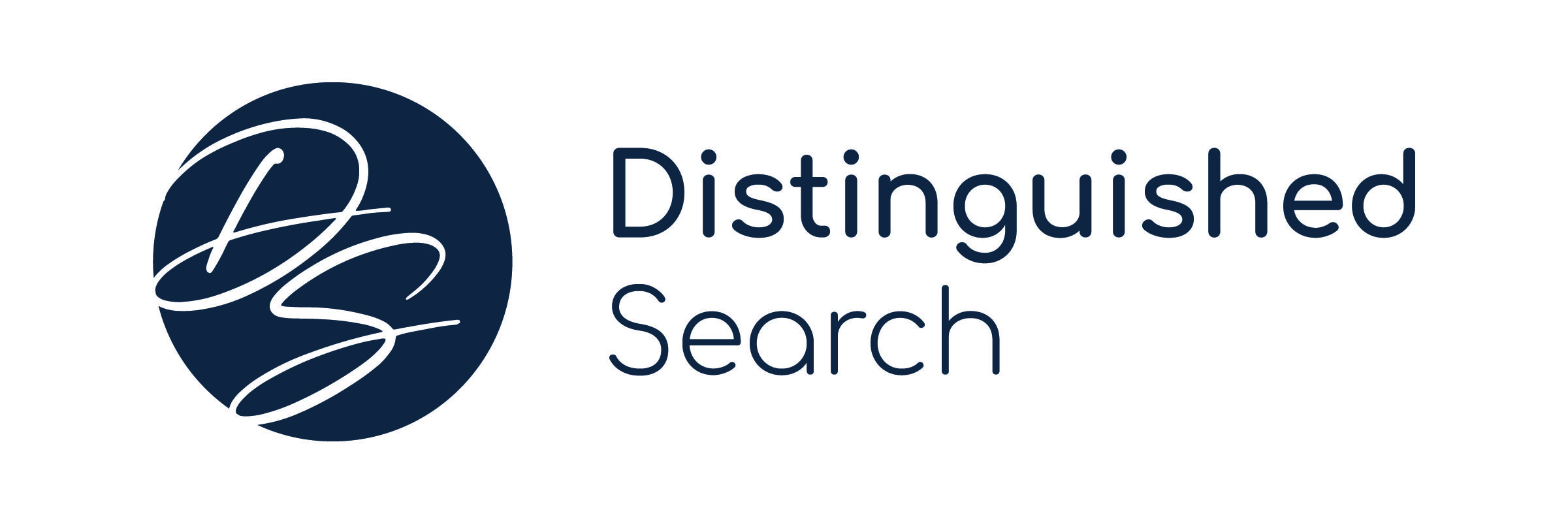 Distinguished Search Logo