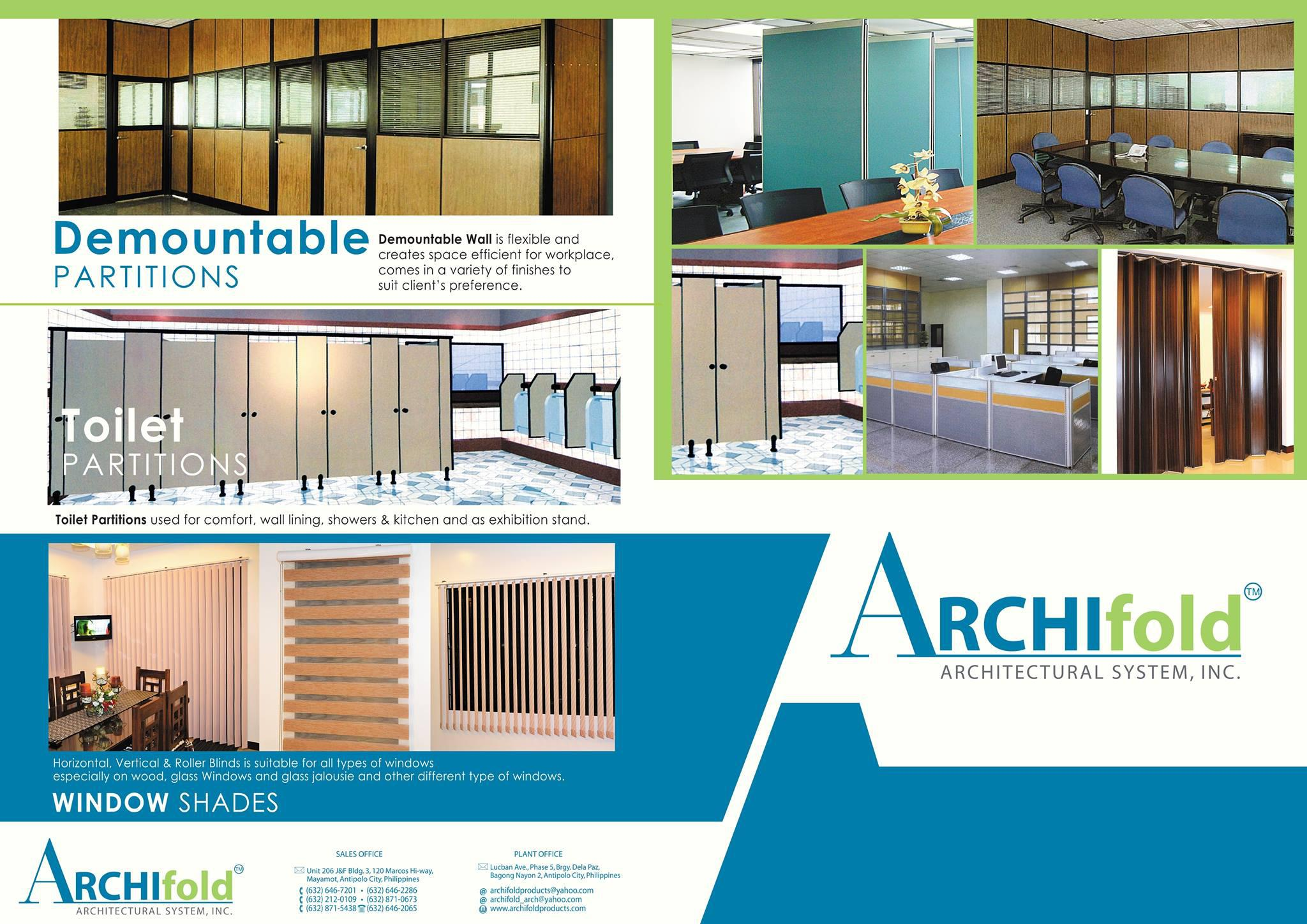 Archifold Architectural System, Inc. Logo