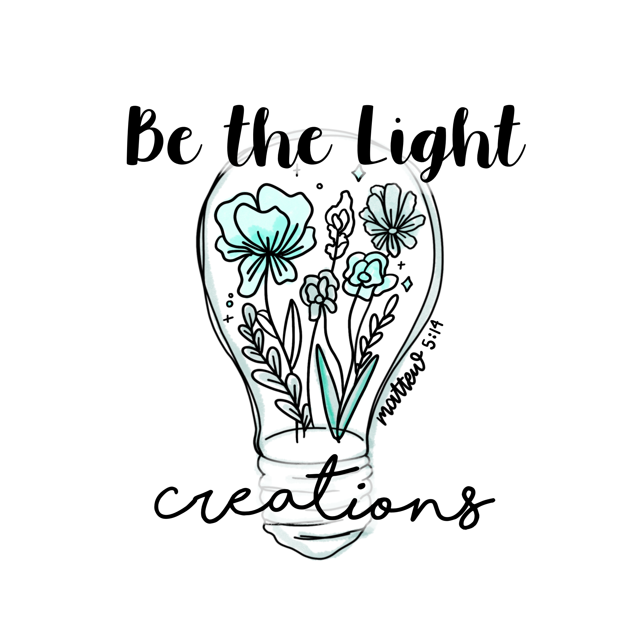 Be The Light Creations Logo