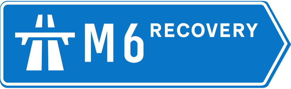 M6 Car Recovery 24/7 Towing & Breakdown Service Logo