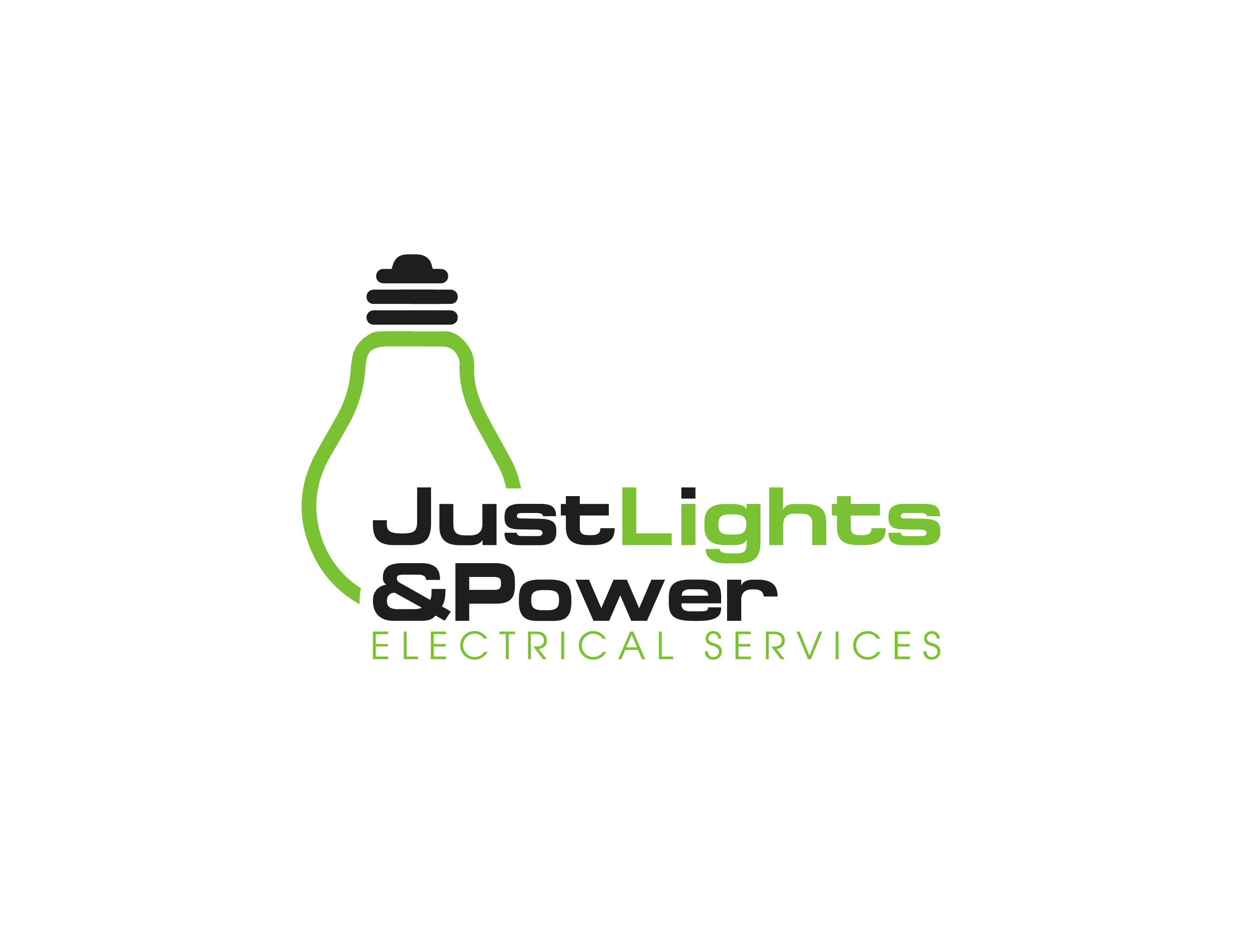 Just Lights & Power Electrical Services Logo