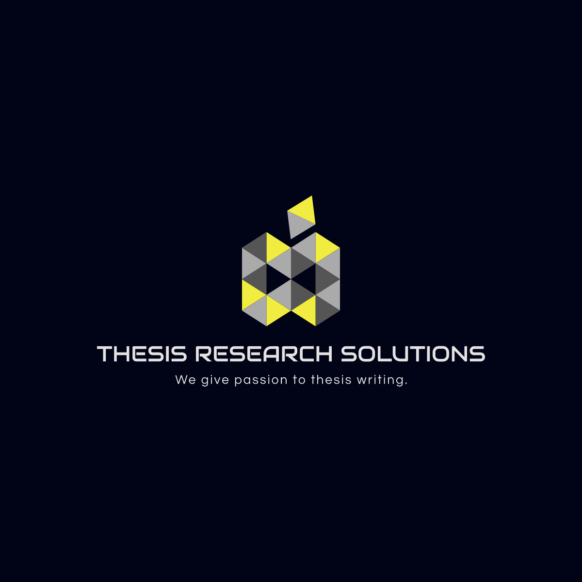 Thesis Research Solutions Logo