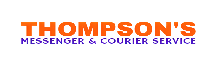 Thompson's Messenger And Courier Service Logo
