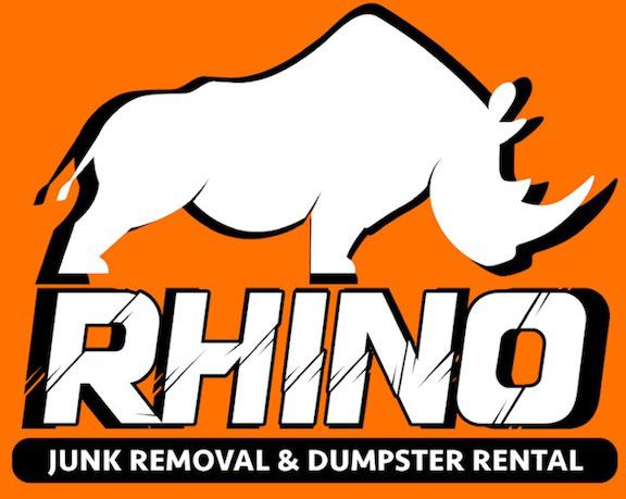 Rhino Junk Removal and Dumpster Rental Logo