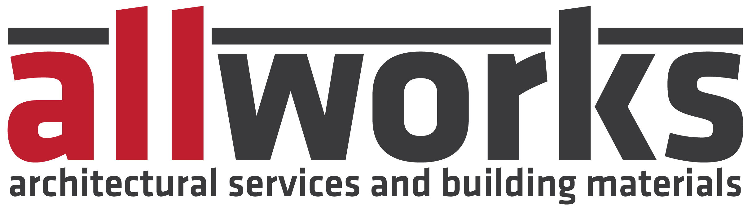Allworks Architectural Services and Building Materials Logo